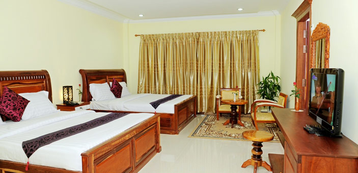 VY CHHE Hotel Twin Room